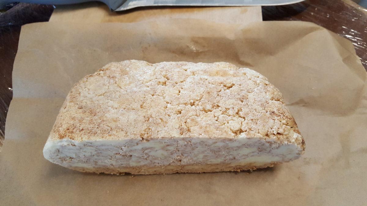 Saldais siers ar kanēli, kg
