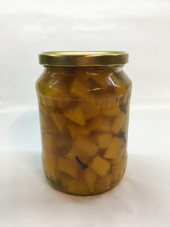Ķirbis marinēts ar citronskābi BIO, 720 ml