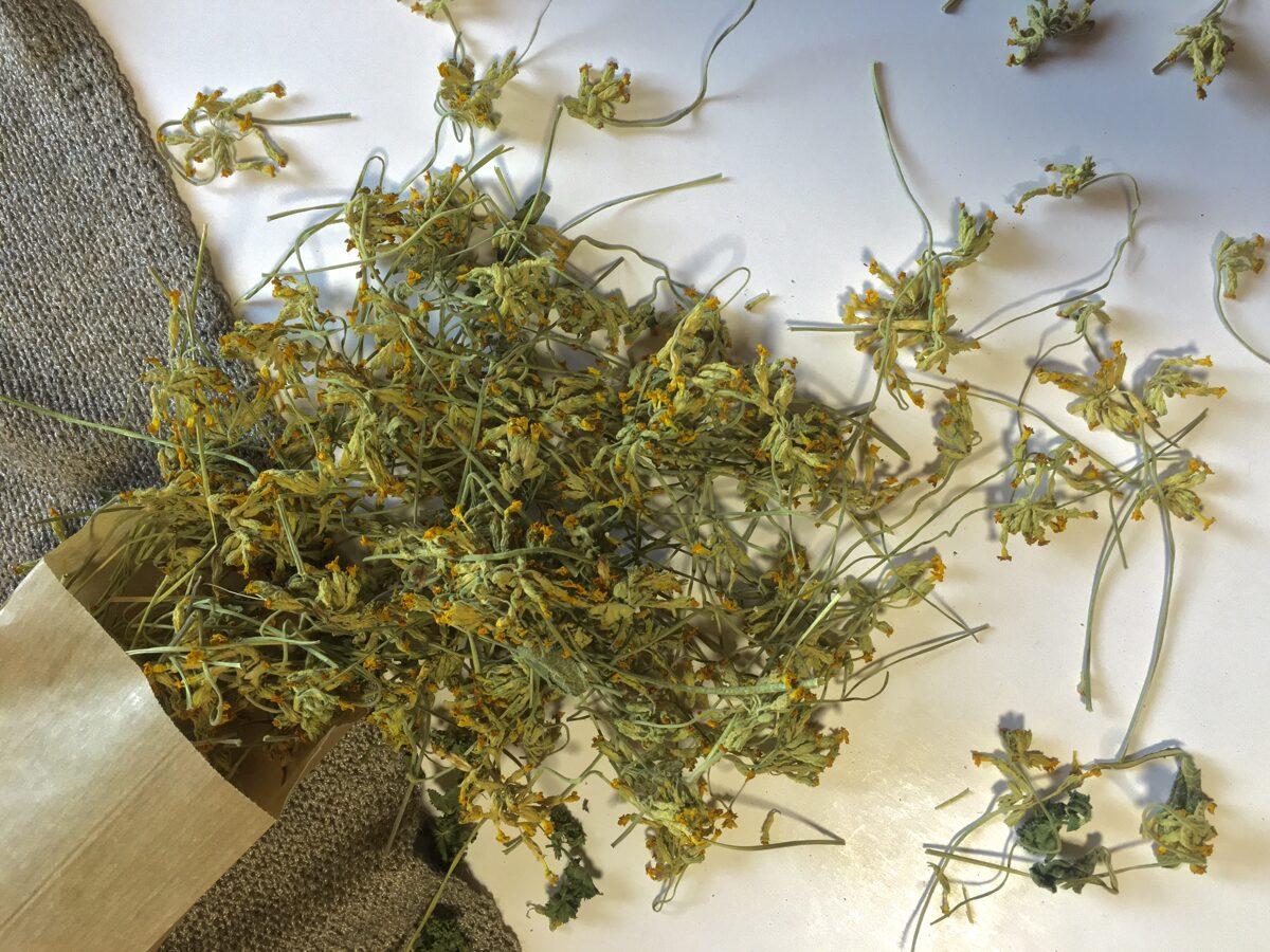 Gaiļbiksītes, kaltētas, 25 grami